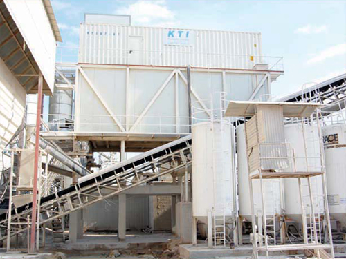 Iceplant unit for ready mixed concrete block manufacturer in
